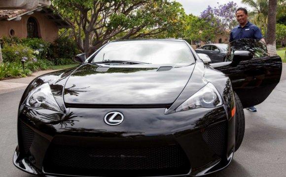 Lexus LFA Rancho Valencia