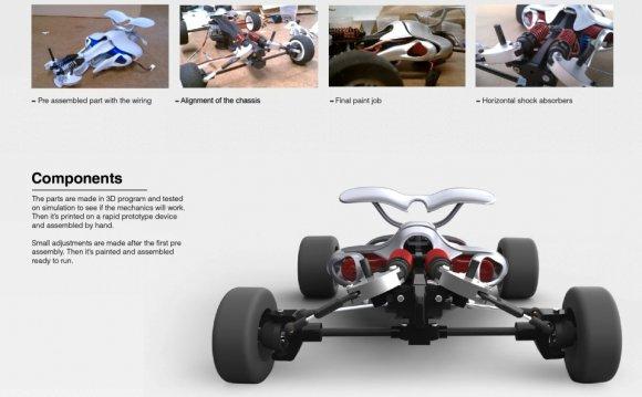 Aero RC Car Concept Design