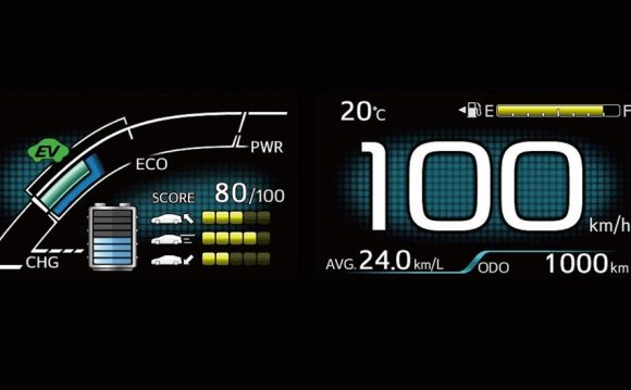 HMI design for eco-driving: