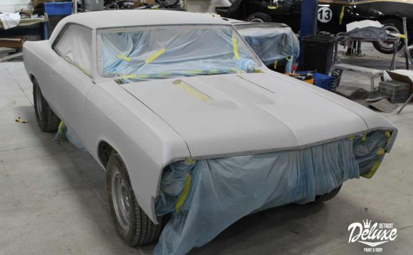 Detroit Deluxe Paint Body and