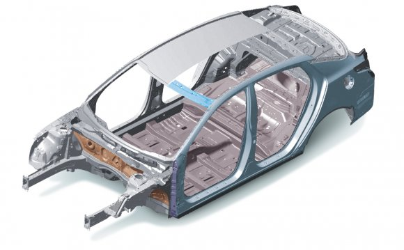Of the car body and reduce