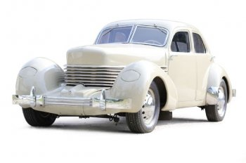 1936 Cord 810 Front Three Quarters